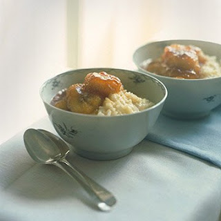 Creamy Rice Pudding with Caramelized Bananas