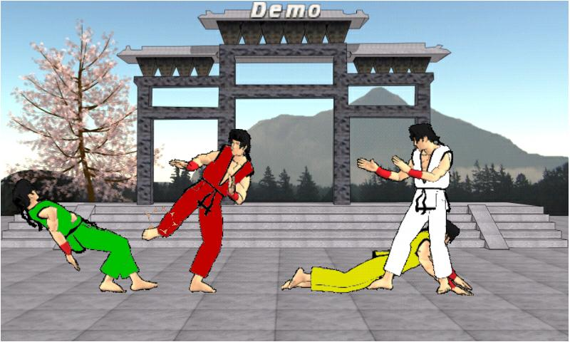 Final Karate Demo- screenshot