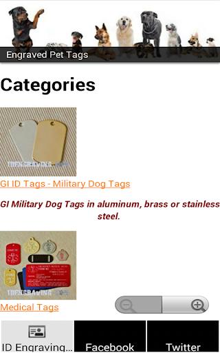 ID Engraving Tags
