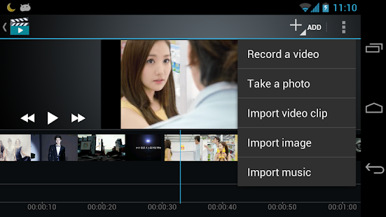 Video Maker Movie Editor – Vignette de la capture d'écran
