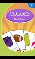 Screenshot of Learn Colors with Flash Cards
