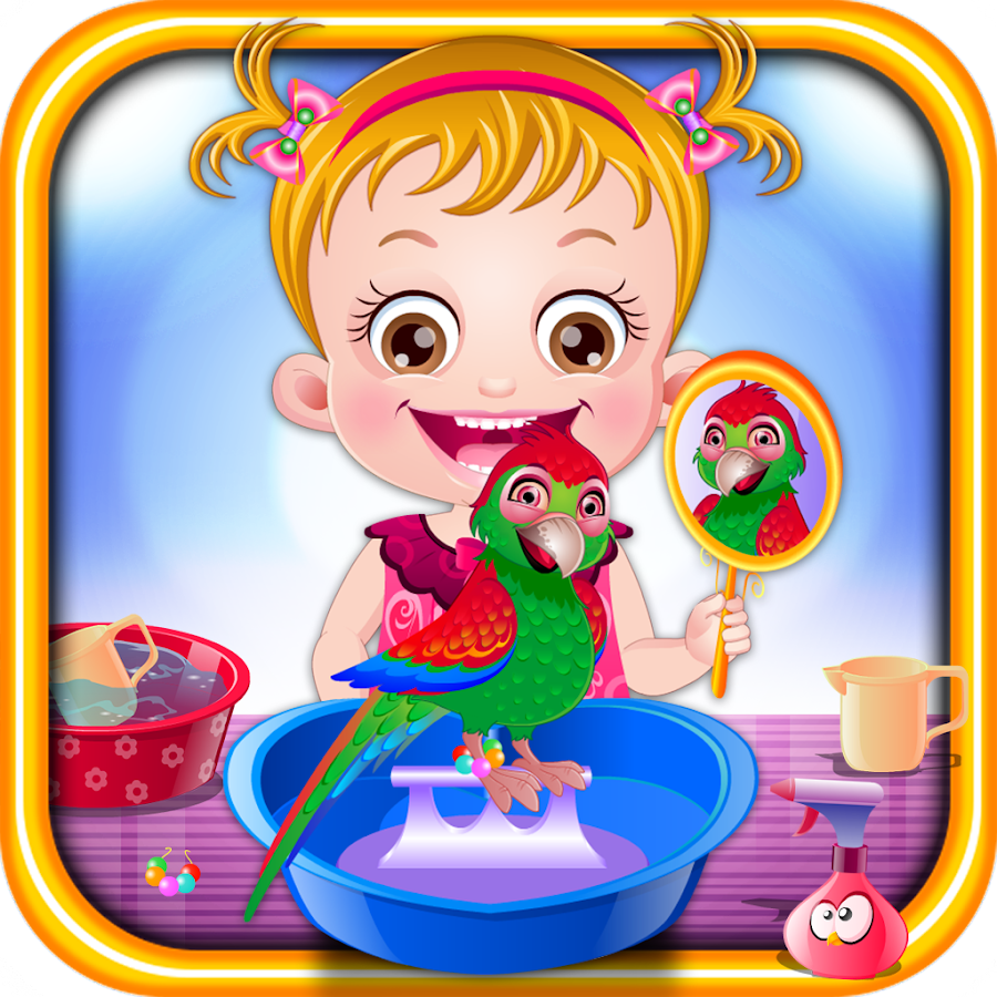 Baby Hazel Parrot Care Android Apps On Google Play