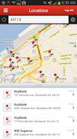 Screenshot of KeyBank Mobile