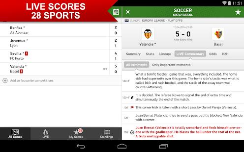 FlashScore Screenshot 13