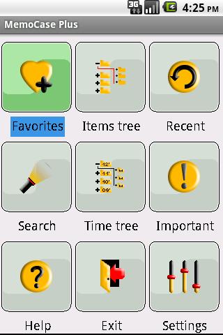 MemoCase- screenshot