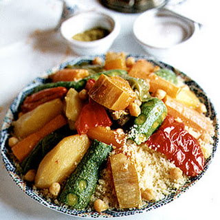 Seven-Vegetable Couscous.