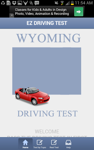 Wyoming Driving Test