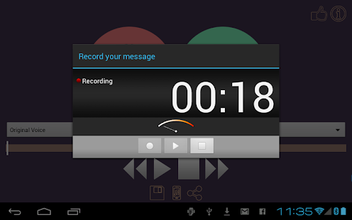 Voice & MP3 Changer Ringtones - screenshot thumbnail