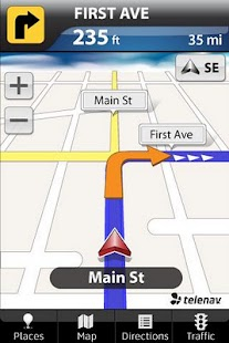 TeleNav GPS Navigator for TMO - screenshot thumbnail