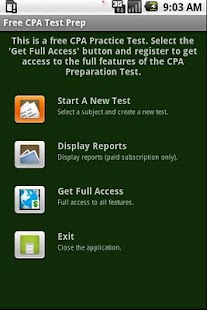 Free CPA Test Prep - screenshot thumbnail