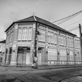 by Archi Rith - Black & White Buildings & Architecture ( architecture,  )