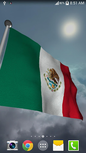 Mexico Flag - LWP
