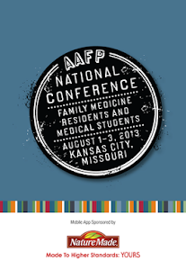 AAFP National Conference 2013 - screenshot thumbnail