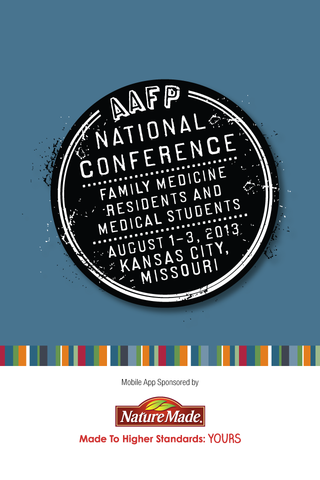 AAFP National Conference 2013 - screenshot