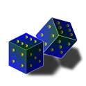 D20 Loaded Dice Roller icon