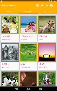Picture Calendar 2014 / 2015 - screenshot thumbnail