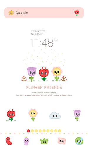 flower friends dodol theme
