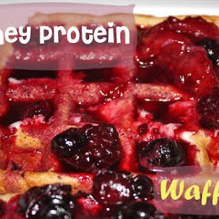 Whey Protein Waffles.