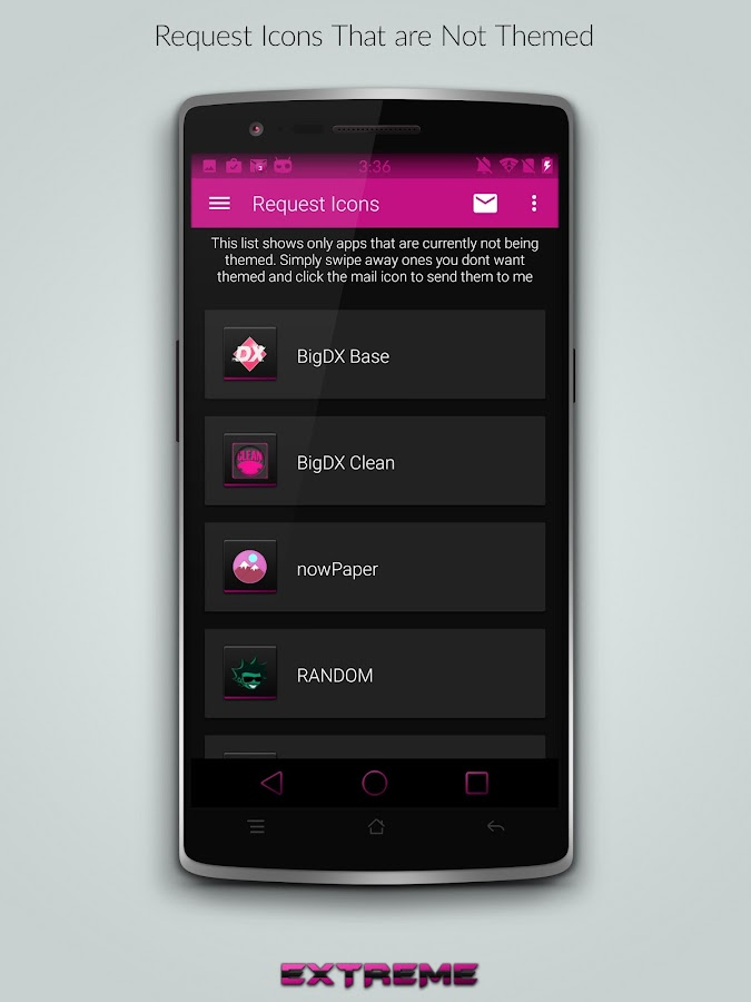 JB Extreme Launcher Theme Pink - Android Apps on Google Play