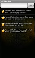 Screenshot of Sahih Al Bukhari (Free)