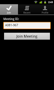 IBM SmartCloud Meetings- screenshot thumbnail