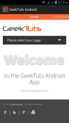 GeekTuts Android