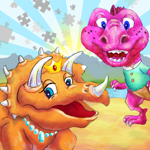 Dinosaur Kingdom Color Puzzle for PC and MAC