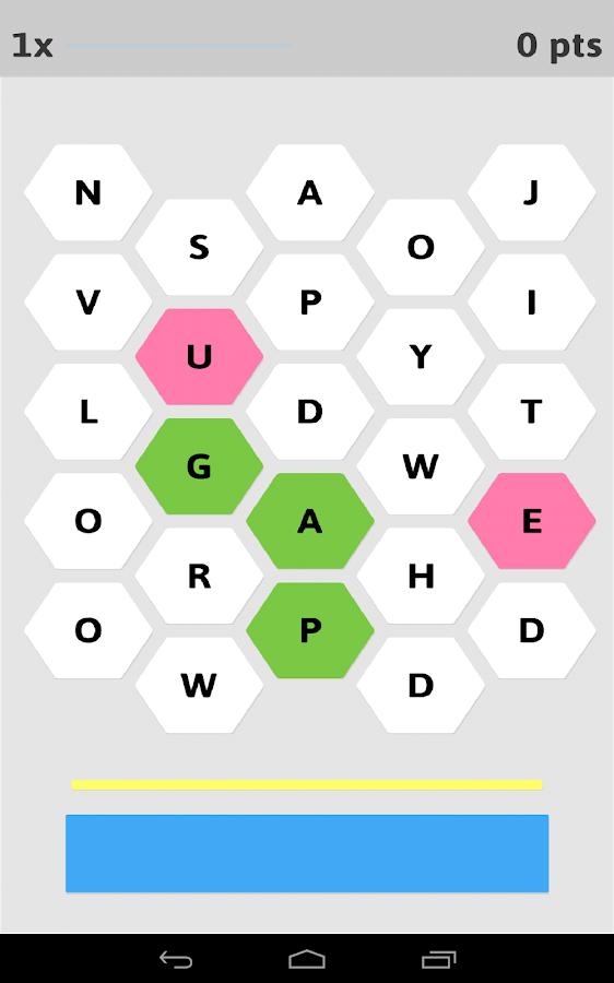 Word Hive- screenshot