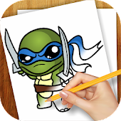 Learn To Draw Ninjaa Turtle