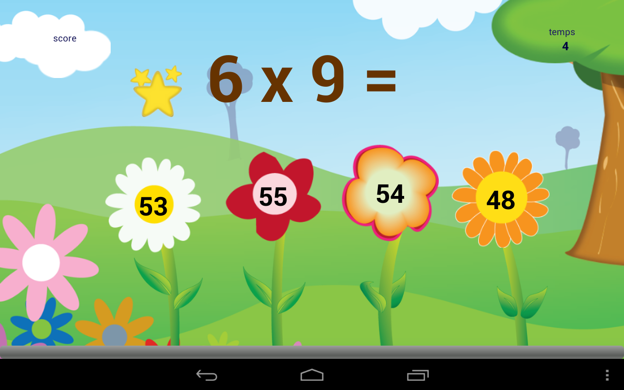 Jeu de table gratuit applications android sur google play for Jeu sur les multiplications