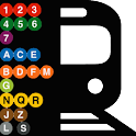 Simple Subway NYC - MTA icon