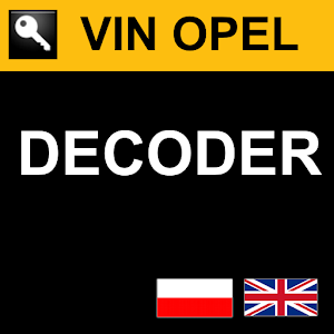 VIN OPEL DECODER | FREE Android app market