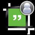 プロフィールために切り抜かない写真Hangouts icon