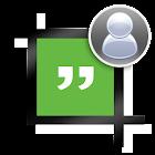 Profil sans recadrage Hangouts icon