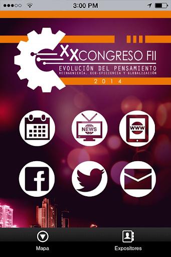 XX Congreso FII