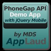 PhoneGap API w/ jQuery Mobile