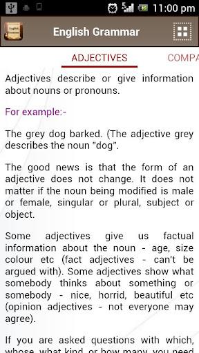 English Grammar Book  screenshots 4