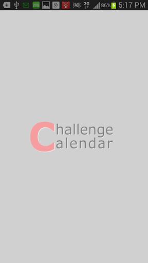 Challenge Calendar 目標日曆