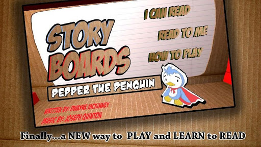 StoryBoards Pepper the Penguin