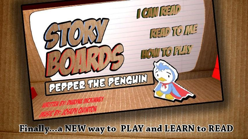 StoryBoards Pepper the Penguin - screenshot