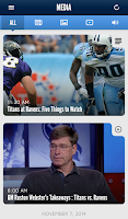 Screenshot of Tennessee Titans Mobile