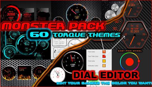 60 Torque Themes OBD 2