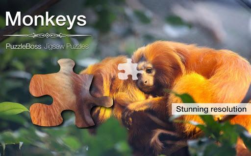 Monkeys Jigsaw Puzzles