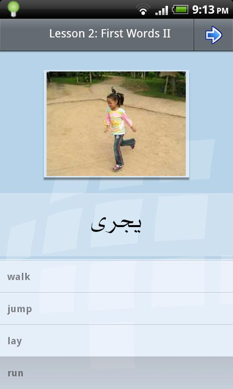 L-Lingo Learn Arabic Pro - screenshot