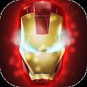 Iron Man Go Launcher Theme
