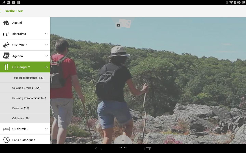 Sarthe Tour - screenshot