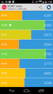 My StepCounter: Easy Pedometer- screenshot thumbnail