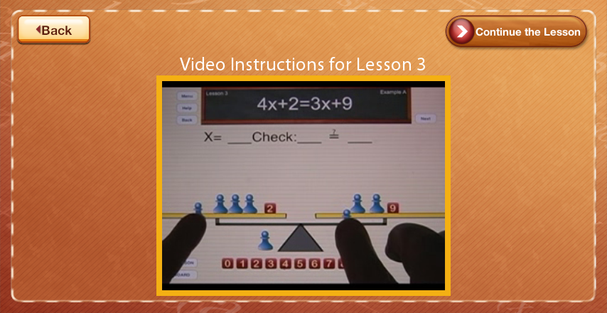 The Fun Way to Learn Algebra- screenshot