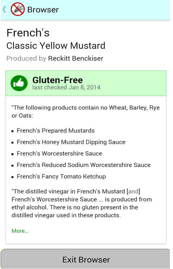 Is This Gluten-Free? - screenshot