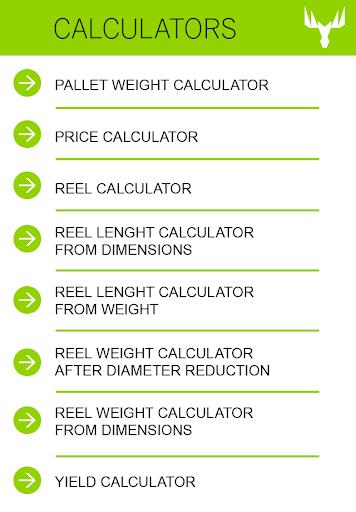 Metsä Board Calculators
